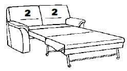 Himolla Sleepoly 2202 43 X