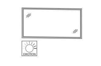 Puris Sonderschränke Flächenspiegel