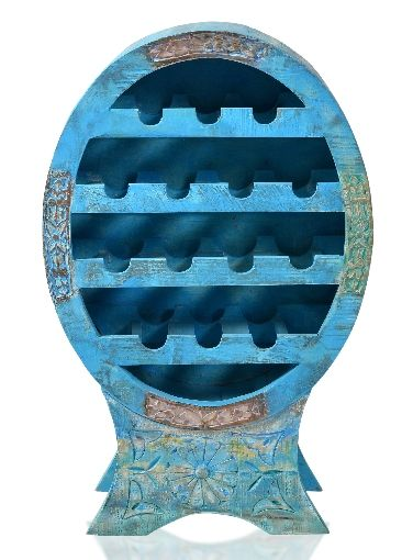 Sit Blue Weinregal