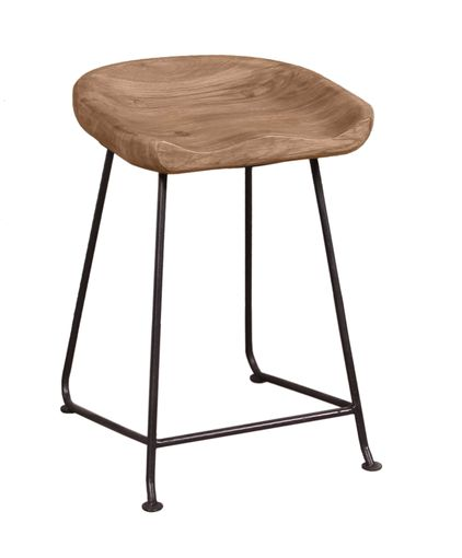 Sit Live Edge Hocker