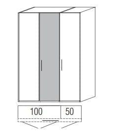 Loddenkemper Schlafzimmer Multi Comfort Standardschränke 3-türig