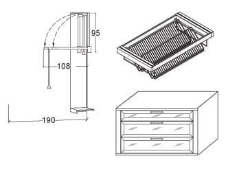 Loddenkemper Schlafzimmer Multi Comfort Zusatzausstattungen Zubehör-Set 3