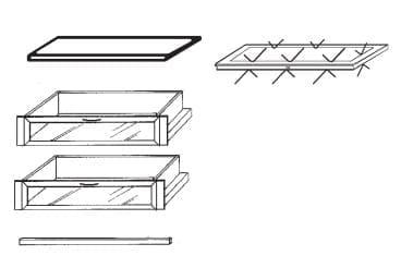 Loddenkemper Schlafzimmer Multi Comfort Zusatzausstattungen Zubehör-Set 4