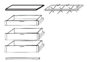 Loddenkemper Schlafzimmer Multi Comfort Zusatzausstattungen Zubehör-Set 6