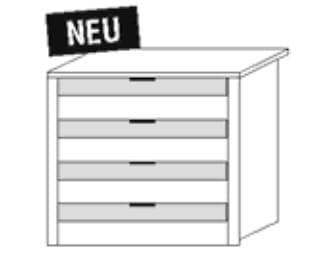 Nolte Germersheim Zubehör Zubehör Drehtürenschränke für Schrankelemente mit 100 cm Breite und 60 cm Tiefe