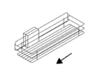 Nolte Germersheim Zubehör Zubehör Drehtürenschränke für Rundelemente mit 46 cm Breite und 60 cm Tiefe