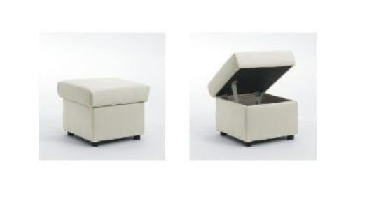 Polipol Sofas Monroe-Memphis Hocker 47x47