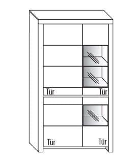 Wöstmann Wohnzimmer Soleo 3000 Einzelmöbel
